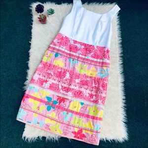 Lilly Pulitzer Devine Patch Divine Dress Size 16
